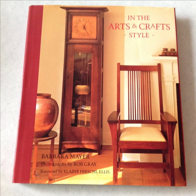 Offered is an interior design book featuring Arts & Crafts style. This book has been selected for your consideration not...