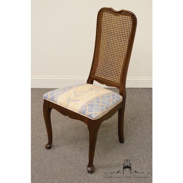 Davis Cabinet Company Late 20th Century Vintage Davis Cabinet Co. Cherry Dining Chair For Sale - Image 4 of 8