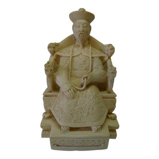 Asian Buddha Imperial Figure