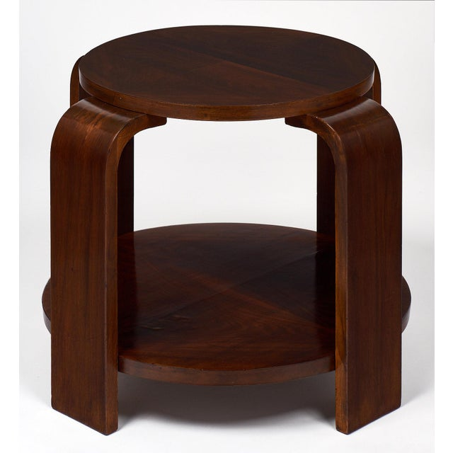 Art Deco Period Walnut Gueridon For Sale In Austin - Image 6 of 11