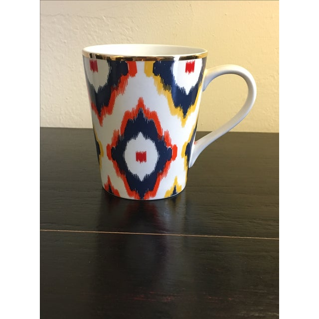 C. Wonder Multicolor Ikat Mugs - Set of 6 - Image 3 of 6