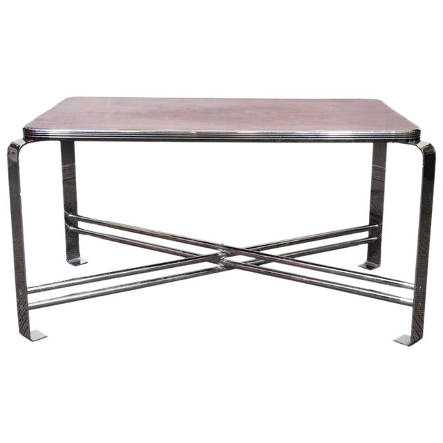 ART DECO RARE WOLFGANG HOFFMANN COFFEE TABLE For Sale