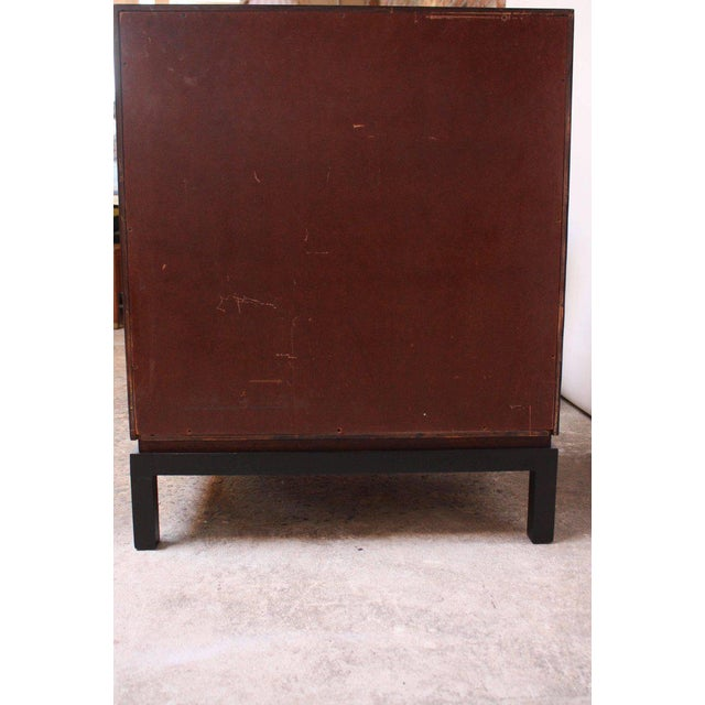 Pair of Midcentury Stained Mahogany Chest of Drawers - Image 8 of 9