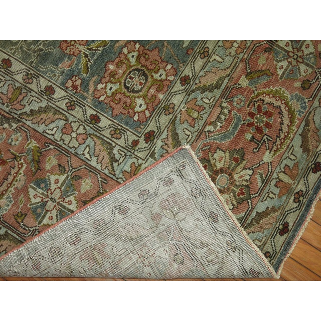 Antique Malayer Rug, 9' X 11'8'' For Sale - Image 10 of 11