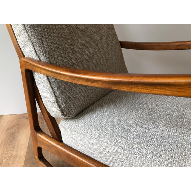 Newly-Upholstered MCM Rocker - Ole Wanscher for France & Daverkosen For Sale - Image 12 of 13