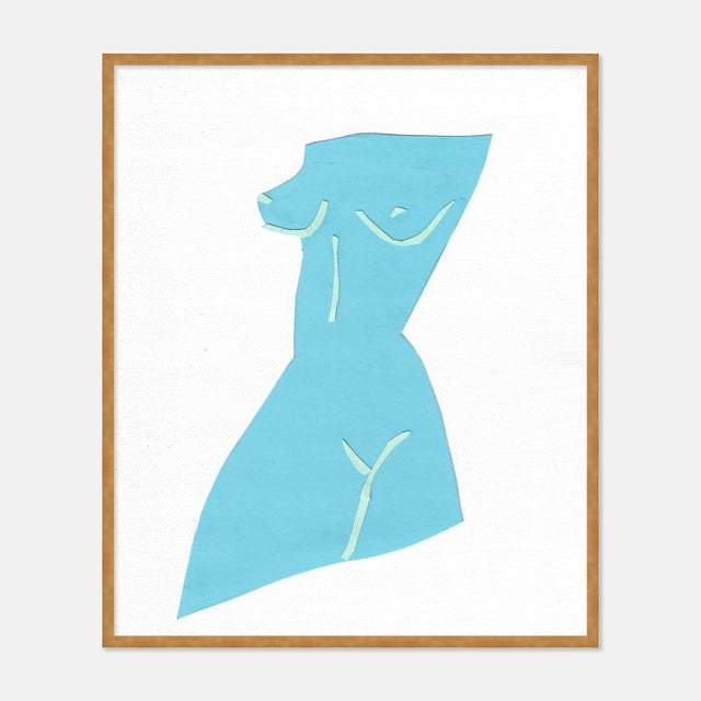 Virginia Chamlee Fair Lady 1 by Virginia Chamlee in Gold Framed Paper, Medium Art Print For Sale - Image 4 of 4