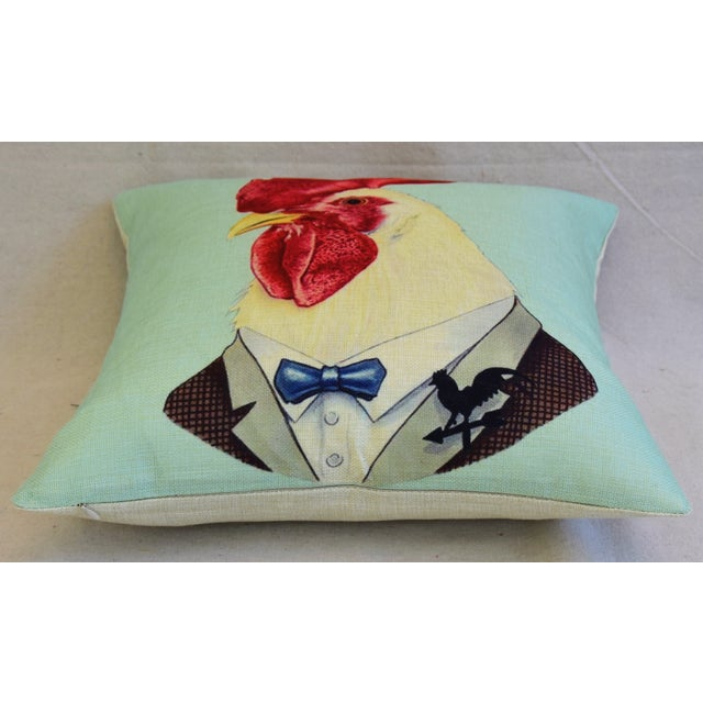Dapper Rooster Feather/Down Pillow - Image 6 of 6