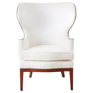 Mid-Century Wing Chair by Edward Wormley for Dunbar For Sale