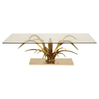 Mid-Century Modern Dore Bronze Coffee Table For Sale