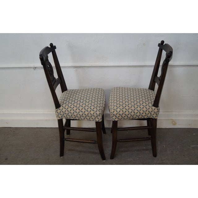 Antique 19th C. French Country Dining Chairs - 4 - Image 3 of 10