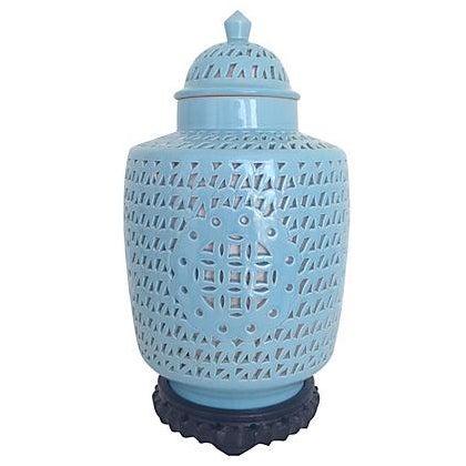 1950s Blanc De Chine Jar Lamp - Image 1 of 10