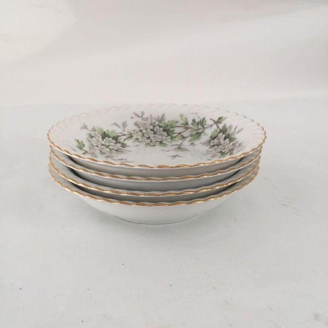 Vintage Dogwood Floral Bowls - Set of 4 For Sale - Image 4 of 6
