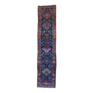 "Vintage Persian Heriz Rug - 3'3"" X 14'2"""