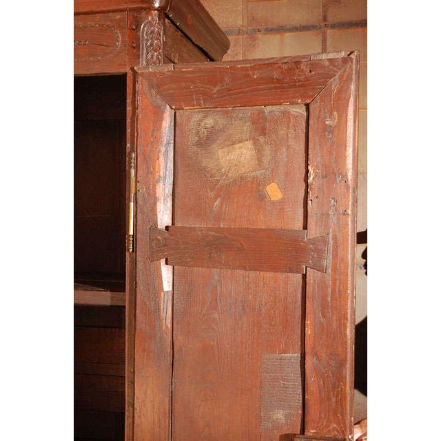 Antique Louis XV Armoire For Sale - Image 4 of 10