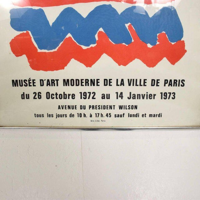 Paper Tapisseries De Sonia Delaunay 1972 Paris Litho Poster For Sale - Image 7 of 8