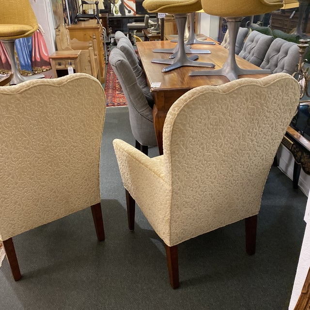 Decorators Walk John Oetgen Collection Chairs - a Pair For Sale In San Francisco - Image 6 of 12