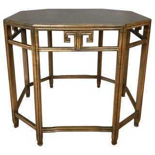 Michael Taylor for Baker Far East Collection Octagonal End Table For Sale