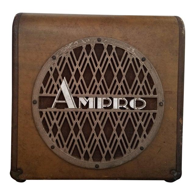 Ampro Speaker and Cabinet For Sale
