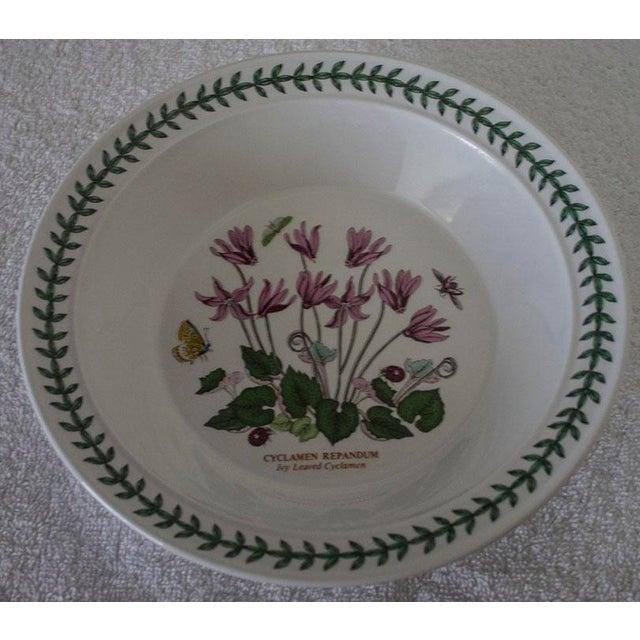 Set of 6 Portmeirion Botanic Garden Soup Bowls - Image 6 of 10