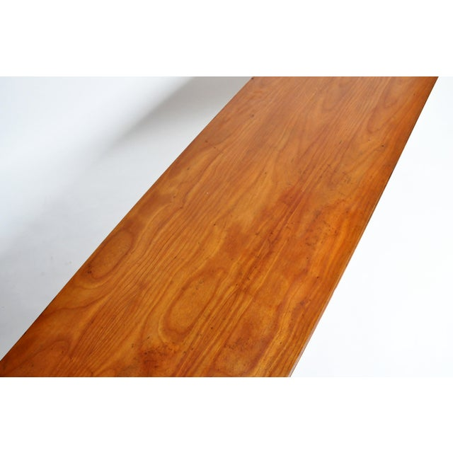 French Mid-Century Modern Walnut Veneer Sideboard For Sale - Image 10 of 13