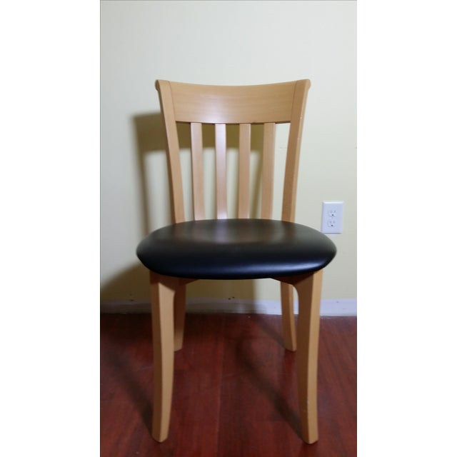 Potocco Modern Italian Dining Chairs - Set of 6 - Image 2 of 7