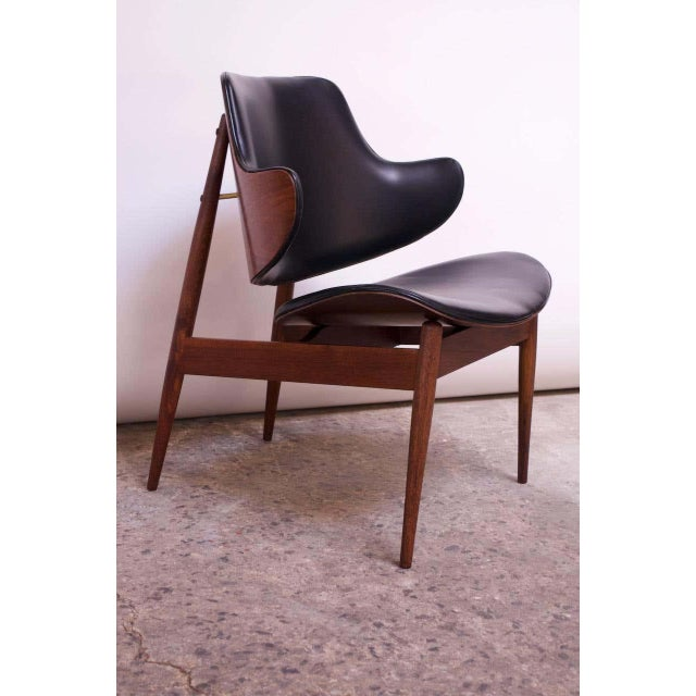 Seymour J. Wiener Walnut Lounge Chair for Kodawood For Sale - Image 13 of 13