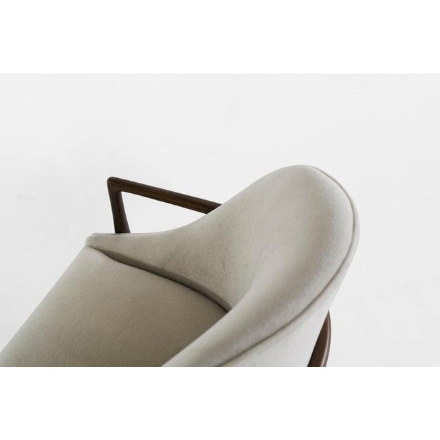Mid-Century Modern Walnut Lounge Chairs - a Pair For Sale - Image 9 of 13