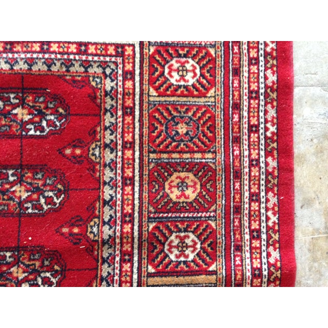 """Hand Knotted Wool Rug - 8'3"""" x 10'9"""" - Image 3 of 4"""