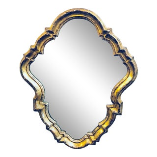 Vintage Italian Gilt Mirror For Sale