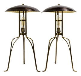 Image of Brown Table Lamps