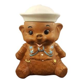 Twin Winton Elephant Boy Cookie Jar For Sale