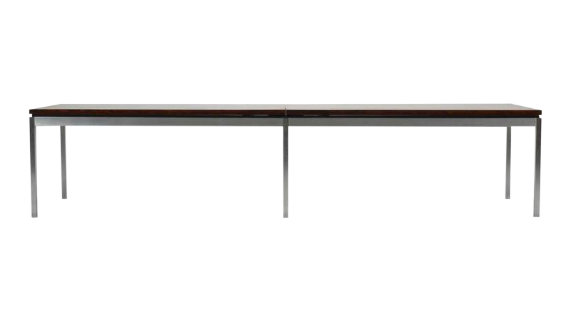 Florence Knoll Rosewood Table Or Bench   Image 10 Of 10