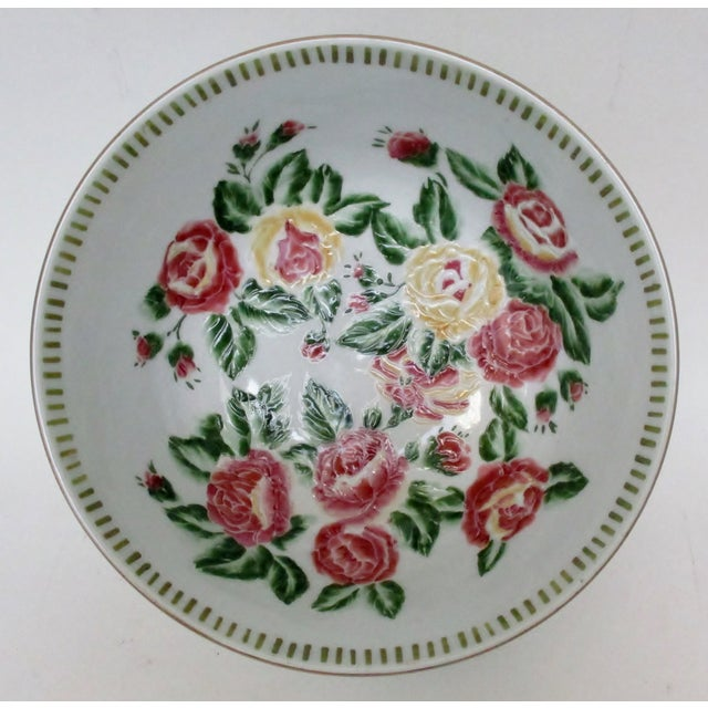 Chinese Porcelain Serving Bowl For Sale - Image 4 of 7