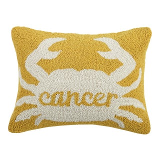 "Cancer Hook Pillow, 14"" x 18"" For Sale"