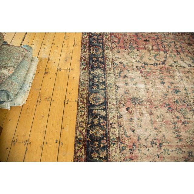 Antique Yazd Carpet - 8' x 10' - Image 6 of 10
