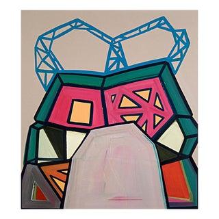 """Ashlynn Browning """"Broken Bridge"""", Painting For Sale"""