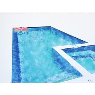 """Fluorescent Floats"" Original Artwork by Kathleen Keifer For Sale"