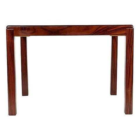 1960s Danish Rosewood Side Table For Sale - Image 4 of 6