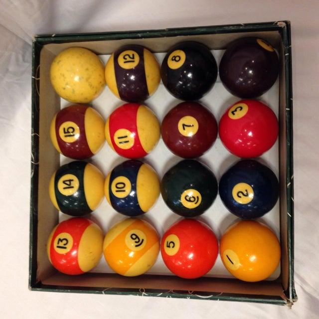 Vintage Belgian Aramith Billiard Pool Balls - Image 3 of 6