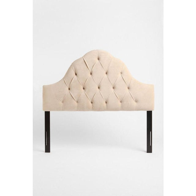 Queen Tufted Headboard in Wheat - Image 2 of 7