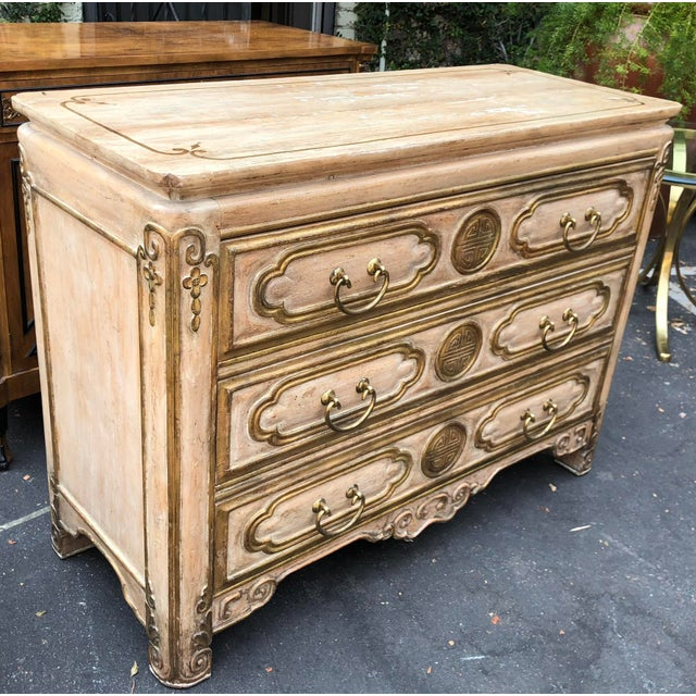 Superb Chinese Chippendale Style Commode by Traditional Imports