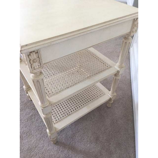 Ethan Allen Elise Side Table - Image 3 of 8