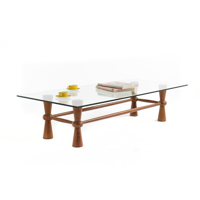 1960s American Crafted Coffee Table For Sale - Image 5 of 5