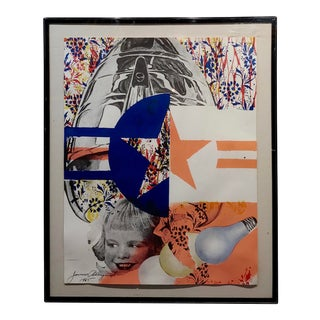 James Rosenquist Castelli Gallery Poster Original 1965 Lithograph For Sale