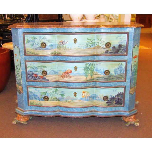 """""""Sea Life"""" Chest of Drawers - Image 2 of 6"""