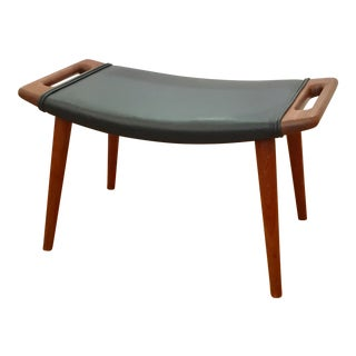1950s Vintage Papa Bear Ottoman by Hans J. Wegner For Sale