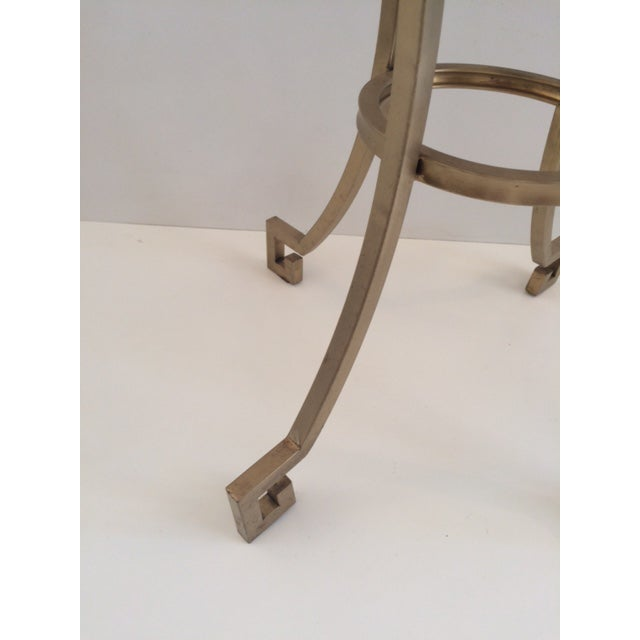Todd Hase Todd Hase Christelle Gueridon Onyx Top Side Table For Sale - Image 4 of 9