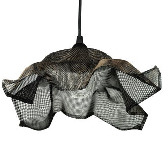 Recycled Metal Mesh Pendant Light