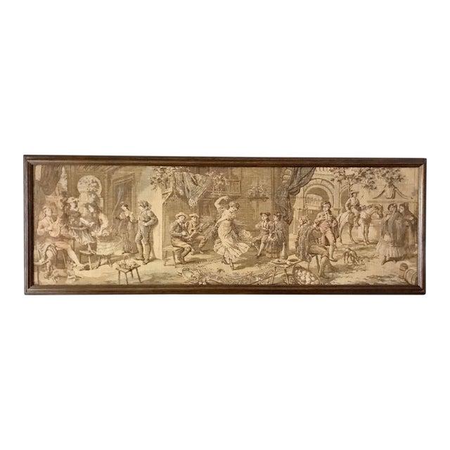 Framed Vintage Tapestry - Image 1 of 5