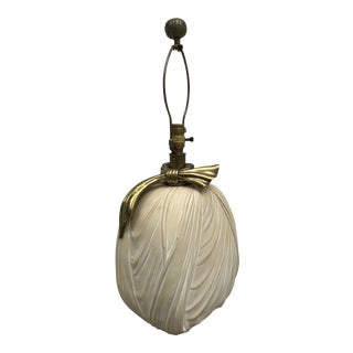 Regency Style Chapman Bow Lamp, 1982 For Sale